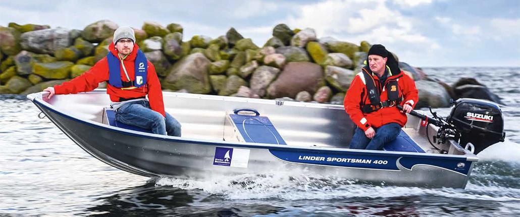 Aluboot - Linder Sportsman 400